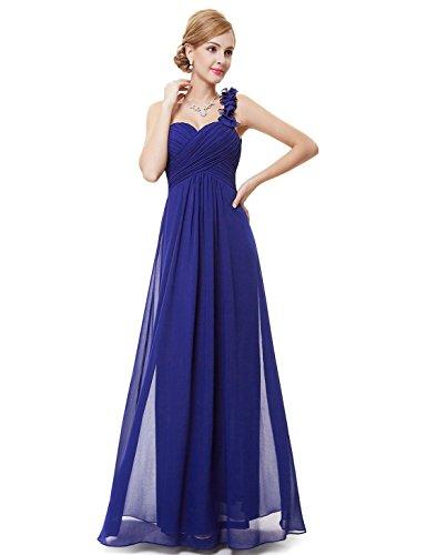Abito Azul Lungo Vestito Ever Da Donna Zafiro Sera pretty 09768 p6zqzOY