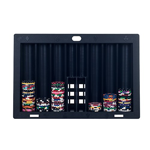 Trademark Poker Table Chip Tray (Black)