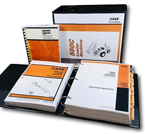 (Case 580C Loader Backhoe Operators Service Parts Manual Repair Shop Tractor Ck)