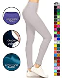 Leggings Depot High Waisted Leggings - Buttery Soft Yoga Waisted - 40+ Colors
