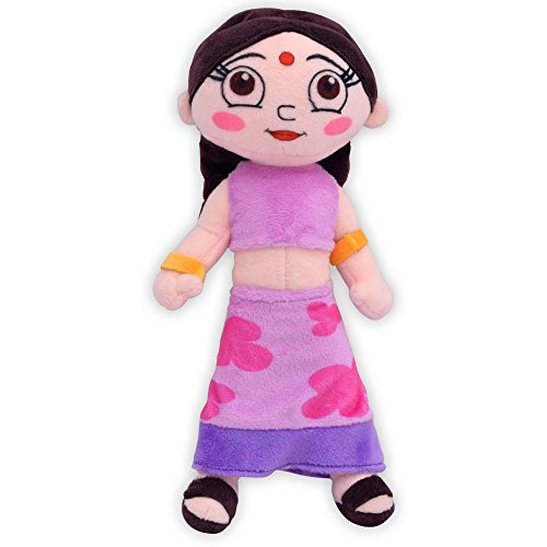 Chhota Bheem Chutki Toy  20 Cm, Purple