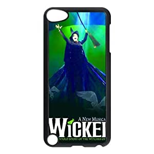 Popular Wicked Protective Hard Case Cover Skin for iPod Touch 5 5G 5th Generation- 1 Pack - Black/White - 6-Perfect Gift for Christmas by ruishername