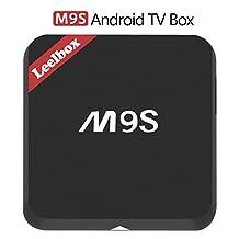 Leelbox M9S Android TV Box Amlogic S812 Quad Core Dual-Band WiFI 2.4G/5G TV Box 2GB RAM 16GB ROM