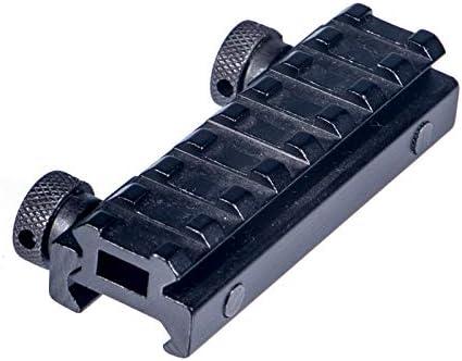 FOCUHUNTER Schwalbenschwanz 20mm Weaver//Picatinny Erweiterung Schienen Scope Zielfernrohr Montage Mit QD Nut