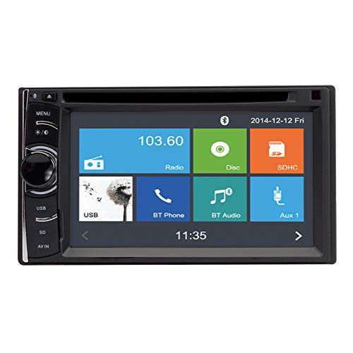 MAGNADYNE M2 Touch Screen Multi-Media Receiver with DVD & Bluetooth