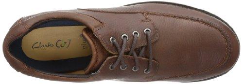 Clarks Scotby Far 20355734, Scarpa classica oxford Uomo Marrone (Braun (Mahogany Leather))