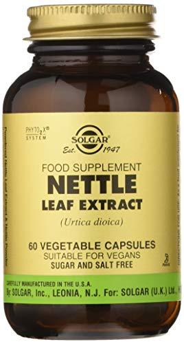 Solgar - Standardized Full Potency Stinging Nettle Leaf Extract, 60 Vegetable Capsules