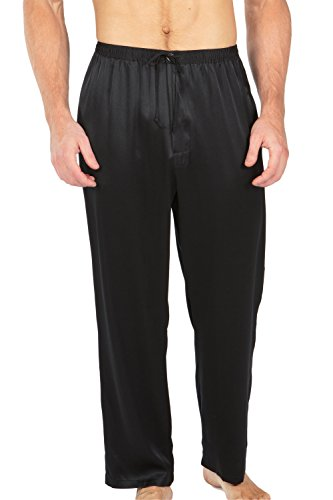 TexereSilk Mens 100 Pajama Pants