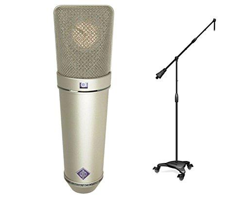 Neumann U 87 Ai Studio Condenser Microphone + Ultimate MC-125 Stand ()
