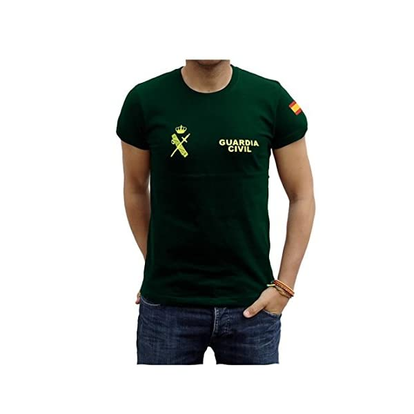 Piel Cabrera Camiseta Guardia Civil 1