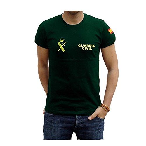 Maglietta Verde Civil Tema Guardia A pBnvrp7
