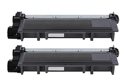 Printronic 2 Pack Compatible Brother TN630 TN660 Toner Cartridge Black for Brother MFC-L2700DW HL-L2340DW MFC-L2740DW DCP-L2520DW DCP-L2540DW HL-L2360DW HL-L2380DW HL-L2300D MFC-L2720DW HL-L2320D MFC-L2705DW Printer