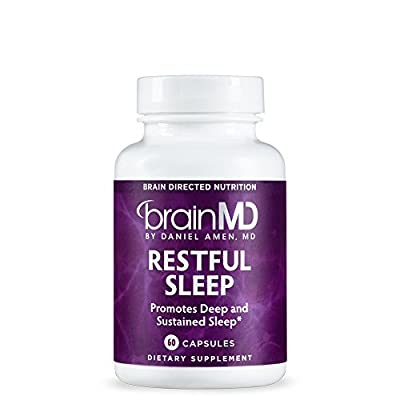 Dr. Amen Restful Sleep Supplement - Natural Melatonin and Sleep Aid