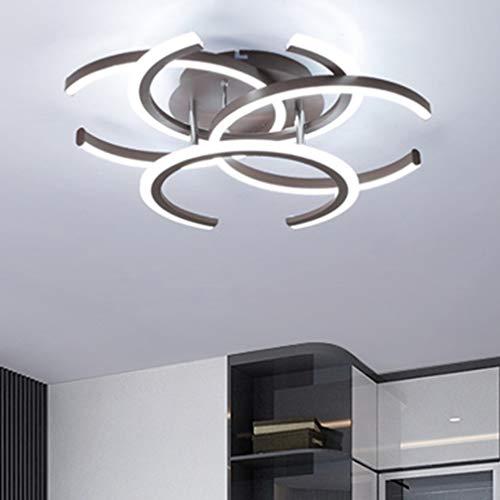 Creative Brown Luz de techo Geometría Diseño Oficina Luces ...
