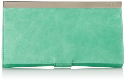 - HOBO Maxine Continental Wallet,Mint,One Size