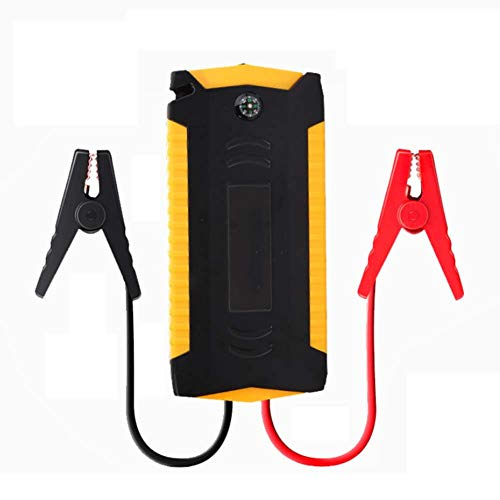 PAUL&GAO Car Battery Charger, Car Jump Starter 600A Peak Current 12000Mah 12V Car Battery Starter With Flashlight Car Battery Charger: Kitchen & Home