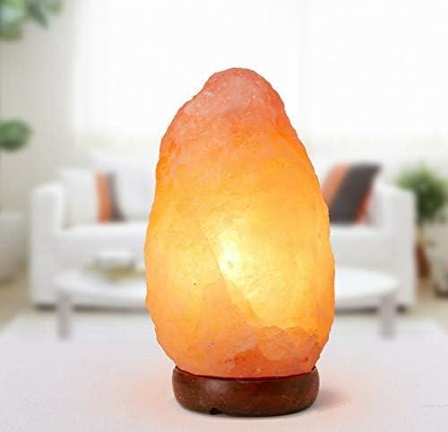 100 /% authentische Ionen Relax Aromatherapie Kristall Himalaya-Salz-Lampe Gewicht 3-4 kg H/öhe 21-22 cm Rosa