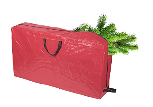 FloridaBrands Christmas Tree Storage Bag with Wheels | Durable Zipper| Accommodates Artificial Trees up to 5 Ft Tall | 50