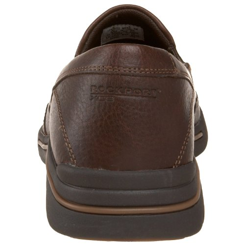 Oxford Men's Leather Casual Rockport Dark Eberdon Brown w6qBf7