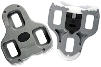 2 Max Genuine LOOK KEO Bi-Material Cleats fits Classic Blade Carbon 4.5° GRAY