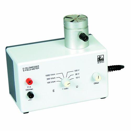 3B Scientific Electric Field Meter, 115V, 50/60Hz, 140mm x 110mm x 70mm Size by 3B Scientific