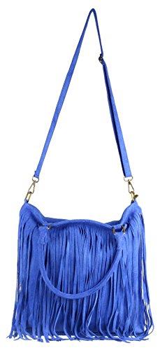 Girly Handbags - Bolso de hombro Mujer azul real