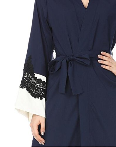 Lace As1 Caftan Waist Dress Women Long Abaya Muslim Coolred East Belt Middle XwqtpIP