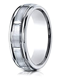 Benchmark® 6mm Comfort Fit Design Wedding Band / Ring