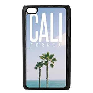 Customized Design California Hard Cover Case For iPod Touch 4th Generation