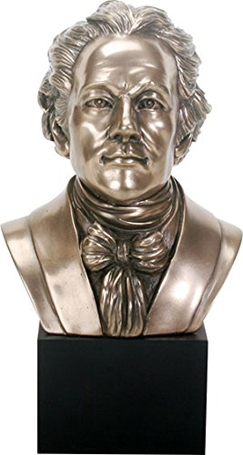 Alexander Hamilton US Historic Figure Portrait Bust