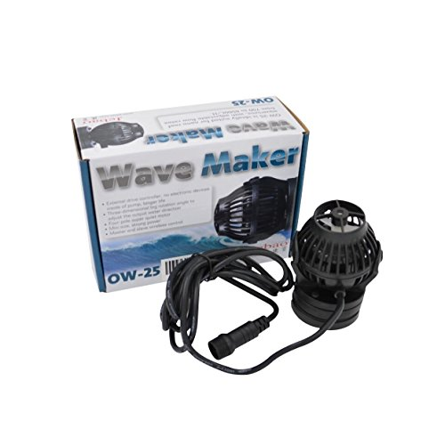 Jebao OW-25 Wavemaker 185-2245 GPH with Controller and Magnet Mount