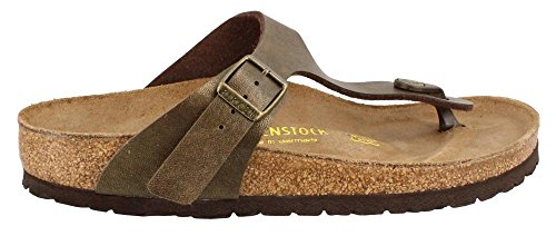 Birkenstock Women's GIzeh Thong Sandal, Golden Brown, 40 M EU/9-9.5 B(M) US