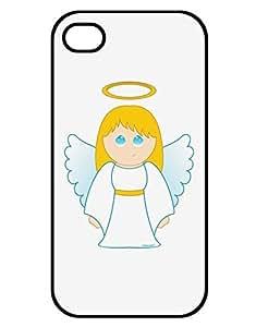 Cute Christmas Angel Girl iPhone 4 / 4S Case