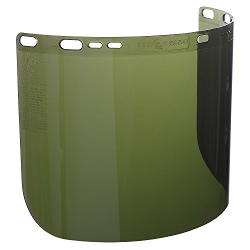 """Jackson Safety F50 Specialty High Impact Face Shield (26262), Polycarbonate, 8"""" x 15.5"""" x 0.06"""", IRUV 3.0, Face Protection, Unbound, 12 Shields / Case by Jackson Safety (Image #4)"""