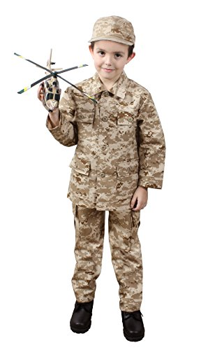 Desert Camo Digital Kids - Rothco Kids BDU Shirt - Desert Digital Camo, Medium(10-12) Size