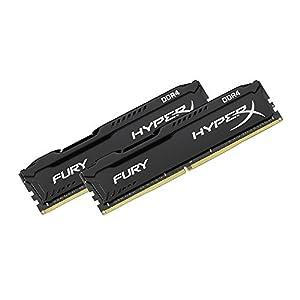HyperX Fury Black 16GB 2666MHz DDR4 CL16 DIMM Kit of 2 1Rx8 (HX426C16FB2K2/16)
