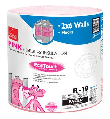 Owens Corning Insulation 23 '' X 39 ' R19 75.07 Sq. Ft. Kraft by Owens Corning (Image #1)