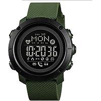 Hngyanp Reloj Inteligente Deportivo con brújula, Reloj Digital Resistente al Agua Gran Pantalla OLED Cara con el…