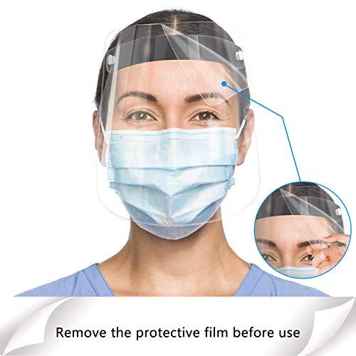 Anti-saliva,Windproof Dustproof Hat Full Face Protective Cap Anti-Fog