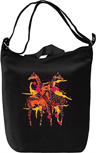 Giraffe Borsa Giornaliera Canvas Canvas Day Bag| 100% Premium Cotton Canvas| DTG Printing|