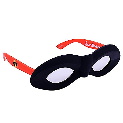 Sunstaches Disney's The Incredibles Incredibles Mask Character Sunglasses