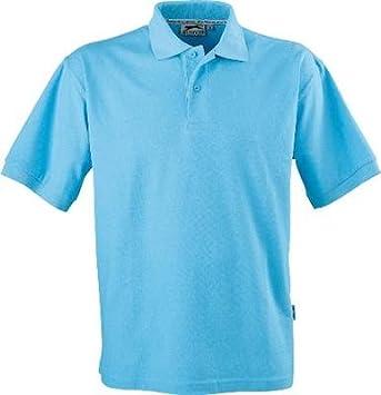 Slazenger Polo camisa Polo de algodón 100% para el ocio, tenis o ...
