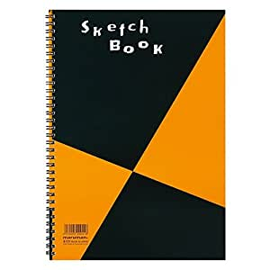 Maruman ZUAN Sketchbook 11.3 x 7.95 Inches (A4), Unruled, 24 pages (S131)