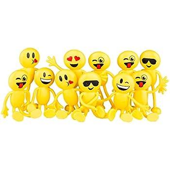 Amazon Neliblu Emoji Party Favors Fun Toys 1 Dozen 45