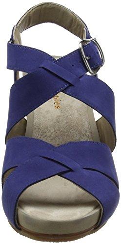 Montie Sandalia Mujer Royal Hush Puppies Fintan para Azul Navy con Pulsera tq7xFwEC