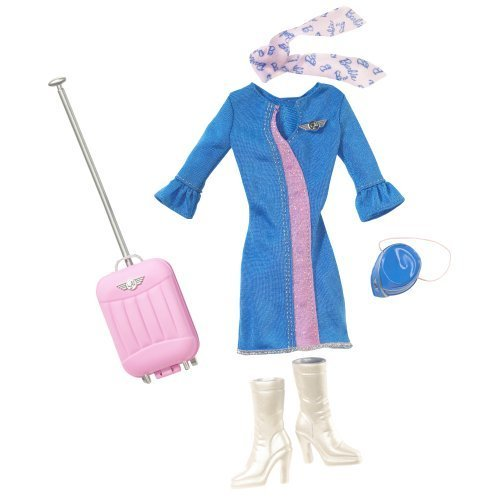 Barbie Fashion Doll Career Clothes  Airline Stewardess