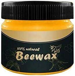 domiluoyoyo Holzgewürz Bienenwachs Mehrzweck Bienenwachs Möbelpolitur Holzwachs Wischtücher Reiniger Ungiftiges Möbelpflegewachs für Schönheit und Schutz