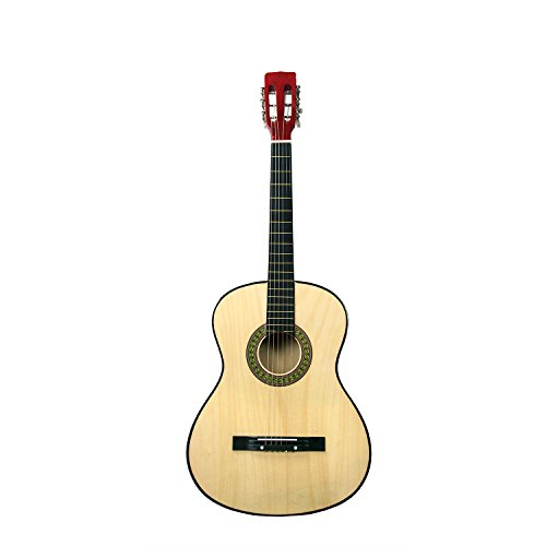 Rise by Sawtooth Petite Size Steel String Beginner's Acoustic Guitar, Natural by Rise by Sawtooth