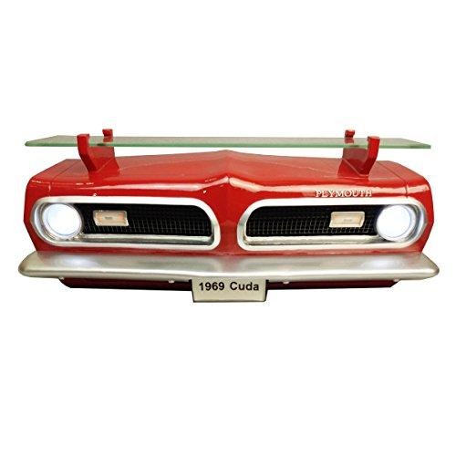 Sunbelt Gifts 7580-139 1969 Plymouth Barracuda Front Wall Shelf W/Lights, Multi]()