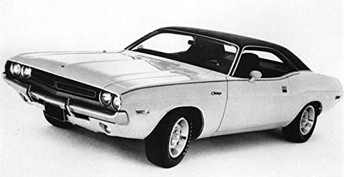 1971 Dodge Challenger Hardtop Factory Photo